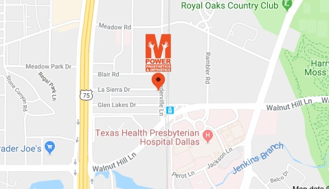 Directions to our Office - M-Power Prosthetics & Orthotics